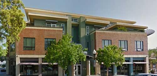 Chen Building, downtown Davis, California