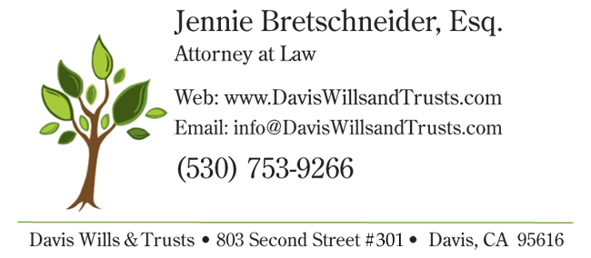 Jennie Bretschneider, Esq. Attorney at Law